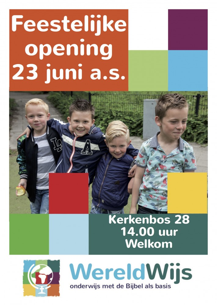 WereldWijs Zoetermeer Schanskorf Christelijke basisschool Meerzicht